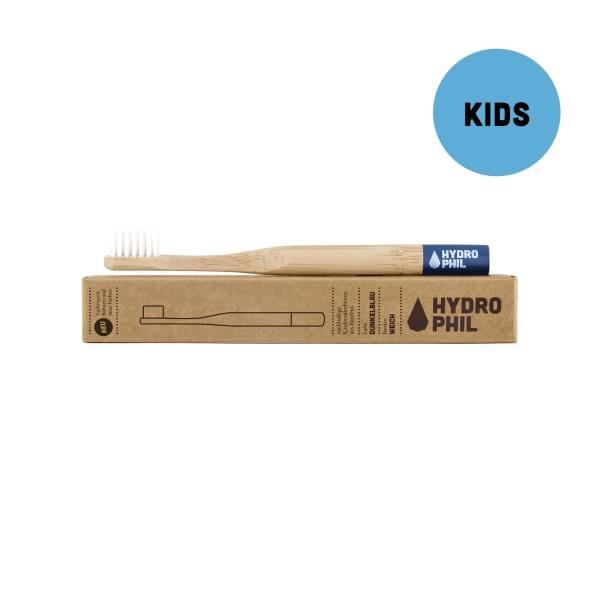 Bambusový kartáček pro děti (modrý) - soft