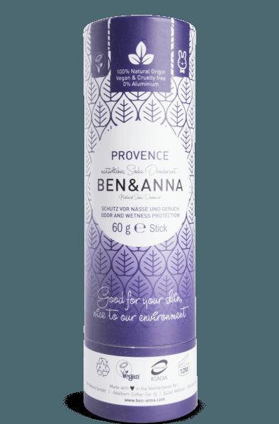 Ben & Anna Tuhý deodorant (60 g) - Levandule