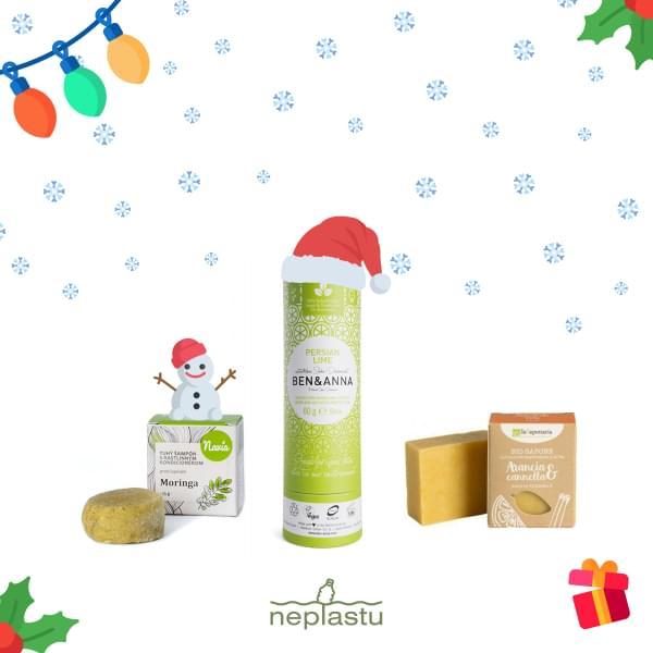 Vánoční balíček - Pro eko ženy Moringa
