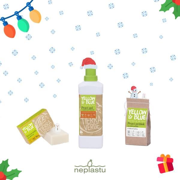 Vánoční balíček - Voňavé prádlo (gel)