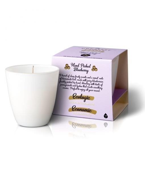 Vonná svíčka - borůvky (130g)