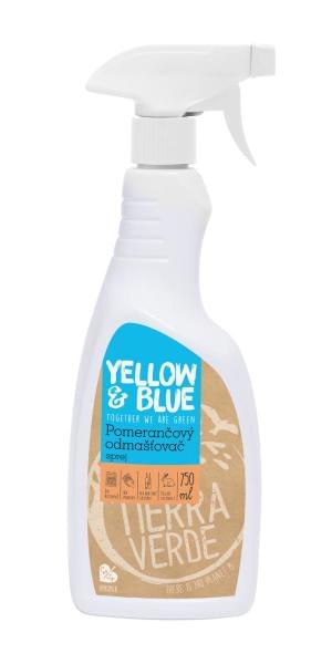 Yellow&Blue Pomerančový odmašťovač (sprej 750 ml)