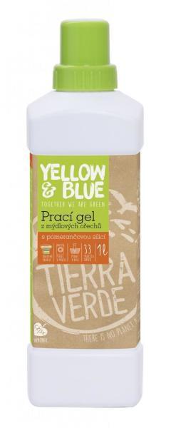 Yellow&Blue Prací gel s pomerančem (1 l)