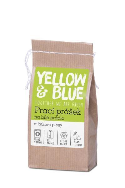 Yellow&Blue Prací prášek na bílé prádlo a látkové pleny - INOVACE (250g)